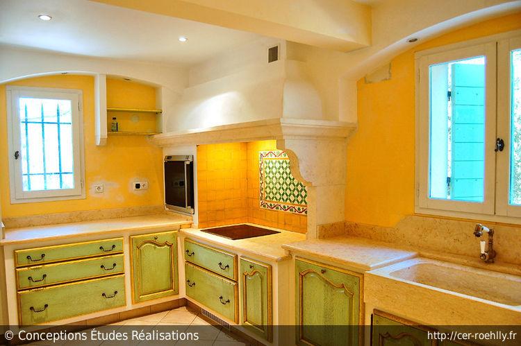 D coration cuisine orange et jaune 27 aulnay sous bois for Deco cuisine jaune et vert